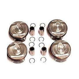 PISTONS EP6 STD 155 HP LOT DE 4 NET HT ø 77 SEGMENT 1.2/1.5/2mm  axe 20 mm