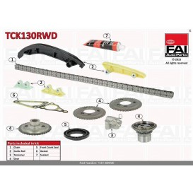 KIT CHAINE FORD PSA 2.2 2.4 PROPULSION