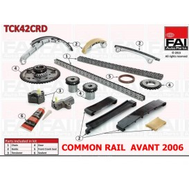 KIT CHAINE YD25 COMMON RAIL AVANT 2006 NET HT