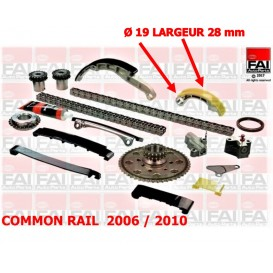 KIT CHAINE YD25 COMMON RAIL 08/2006 A 01/2010 NET HT
