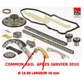 KIT CHAINE YD25 COMMON RAIL A PARTIR DE 01/2010 NET HT FAI