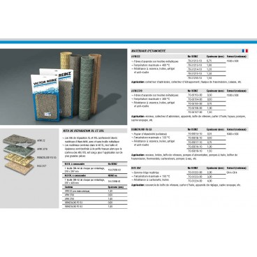 KIT DE REPARATION JOINTS XL REINZ NET HT