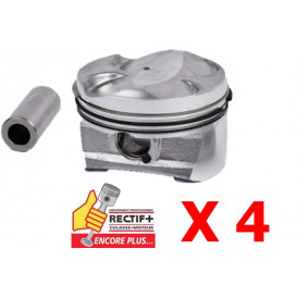 PISTON STD 77mm EP3 EP3C 8FR 8FS LOT DE 4